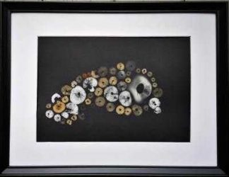 Original mushroom spore print art. Online gallery with a variety of art for sale for your home or give the gift of Irish art