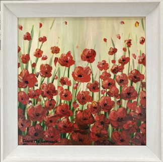 Original floral painting for sale in online gallery by Irish artist. Browse a large selection of paintings for sale here