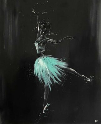 Figurative painting by artist Paul Crozier. Add a stunning piece of abstract art to your home- buy now in online art gallery