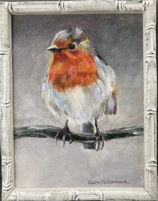 Original painting of a robin. Ideal gift idea or simply beautiful art for your home. Browse a large selection of art here