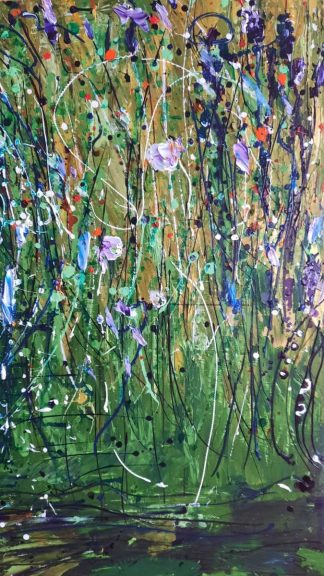 Original abstract painting for sale in online gallery. Beautiful quality art for your home. Browse a large selection of art for sale here