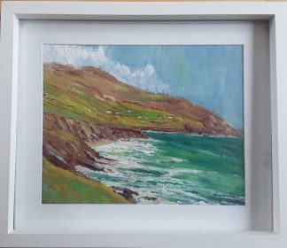 Original Irish seascape painting of Dingle Co.Kerry by Irish artist. Stunning art framed and ready to hang in your home