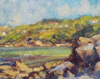 Original Irish landscape painting of Howth Co.Dublin by Irish artist Norman Teeling. Browse a large selection of Irish art here