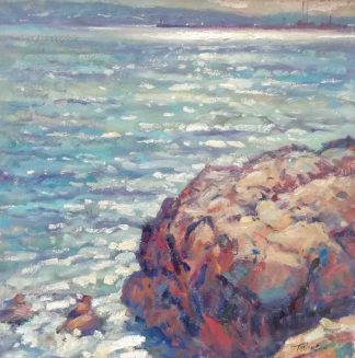 Original painting by Irish artist Norman Teeling. Seascape art, browse more of Normans large variety of art work here