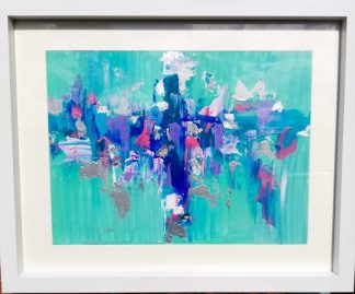 Original abstract painting. Stunning bright and colourful art for your home or a wonderful gift idea for someone special