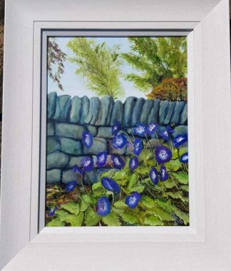 Original floral painting for sale in online gallery by Irish artist. Stunning art for your home or a great gift idea