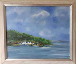 Original seascape painting for sale in online gallery. Irish art by Irish artist. Browse a large selection of art here