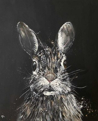 Original painting of a Hare for sale in online gallery. Stunning quality art for your home or gift it to a loved one