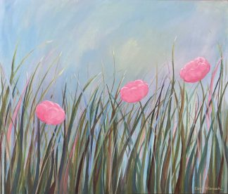 Original floral painting for sale in online gallery by Irish artist. Browse a huge variety of Irish art here today