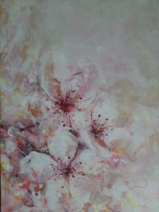 Original floral painting for sale in online gallery. Add some life to your home with a beautiful piece of art