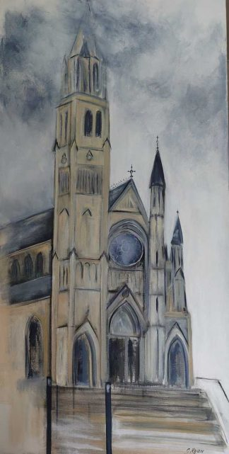 Original painting of St.Peters Church Drogheda by Irish artist. Browse a huge variety of paintings here, art for the home