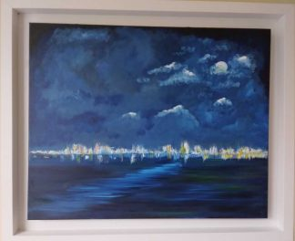 Abstract seascape painting for sale in online gallery. Browse a huge selection of stunning original paintings for sale here