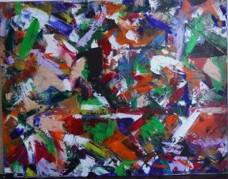 order in disorder, original abstract painting