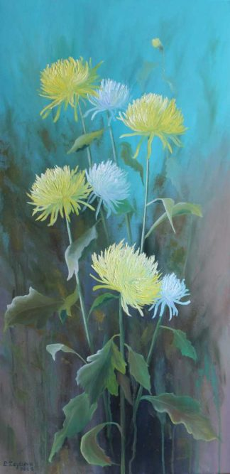 Original floral painting for sale in online art gallery. Huge variety of art of various different styles and sizes