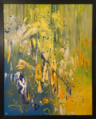 Original abstract painting for sale. Art to add a splash of colour to dull room. Massive selection of art for sale here