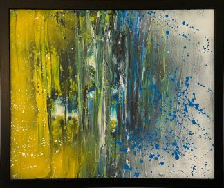 Original abstract painting for sale in online gallery. Irish art by Irish artist, art for the home, gift ideas