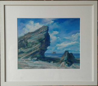 Irish seascape painting for sale in online gallery by Irish artist. Painting of Malin Head. Art for the home, gift ideas