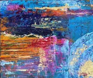 Original abstract painting for sale in online gallery. Wall art, paintings for sale, gift ideas, homemade gifts