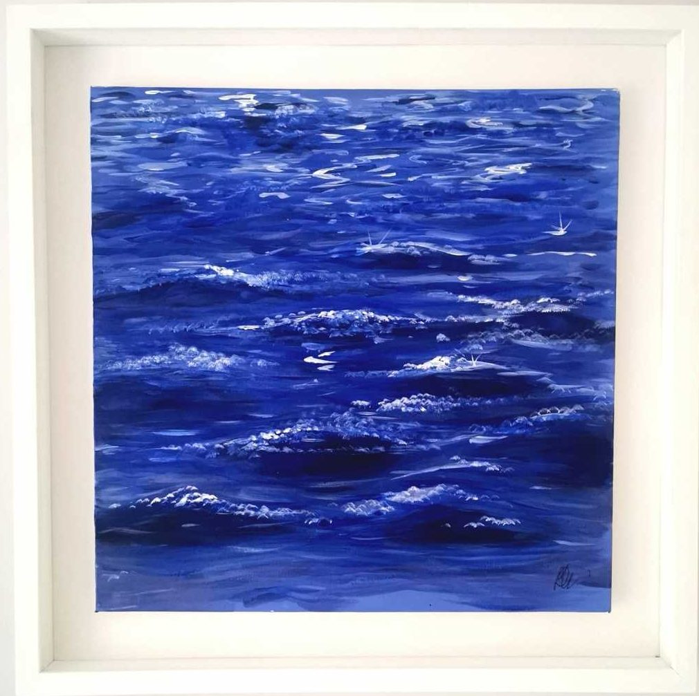 Original seascape painting for sale in online gallery by Irish artist. Browse a large selection of art for sale here